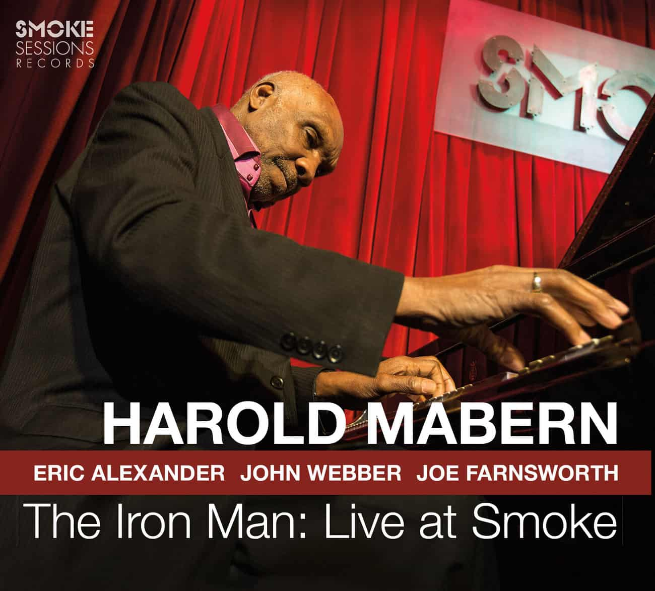 Harold Mabern THE IRON MAN LIVE AT SMOKE_Cover WEB
