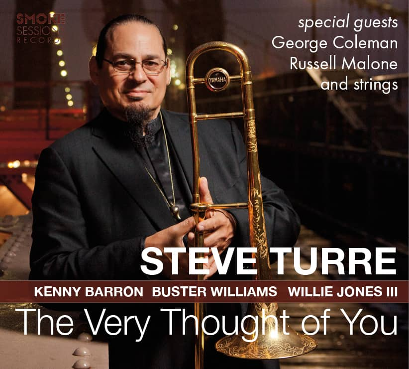 Steve Turre THE VERY THOUGHT OF YOU_Cover