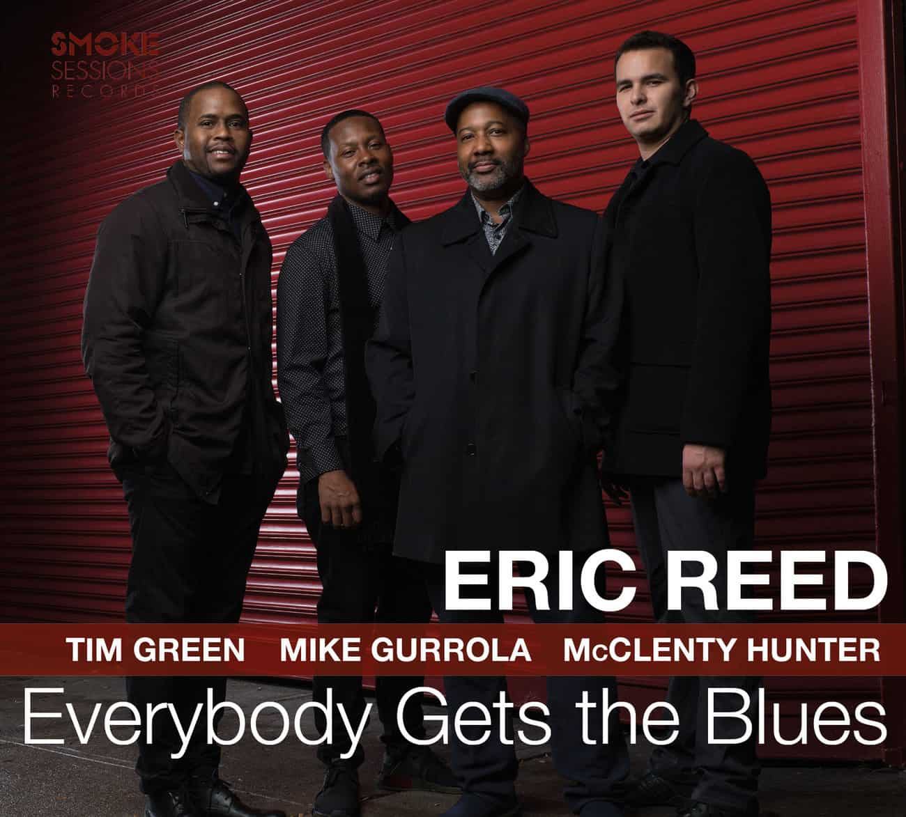Eric Reed EVERYBODY GETS THE BLUES_Cover WEB