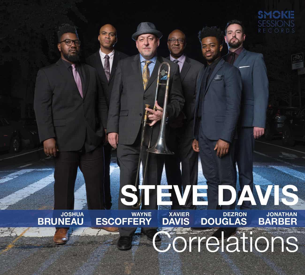 Steve Davis CORRELATIONS_Cover WEB