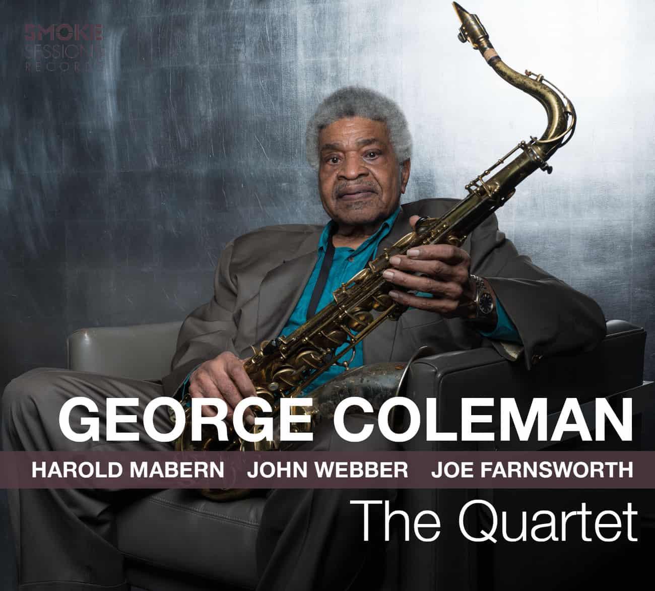 George Coleman THE QUARTET_Cover WEB