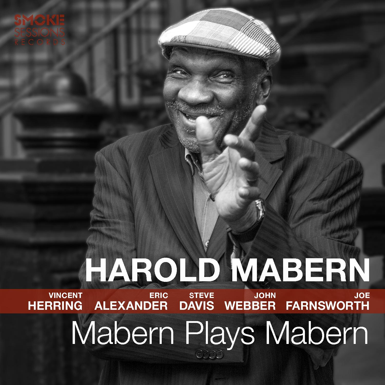 Harold Mabern MABERN PLAYS MABERN Cover 1500px