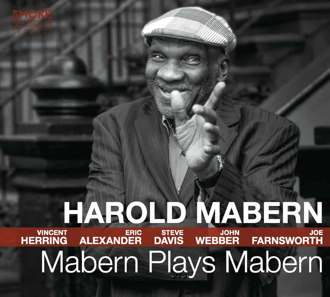 Harold Mabern MABERN PLAYS MABERN_Cover WEB