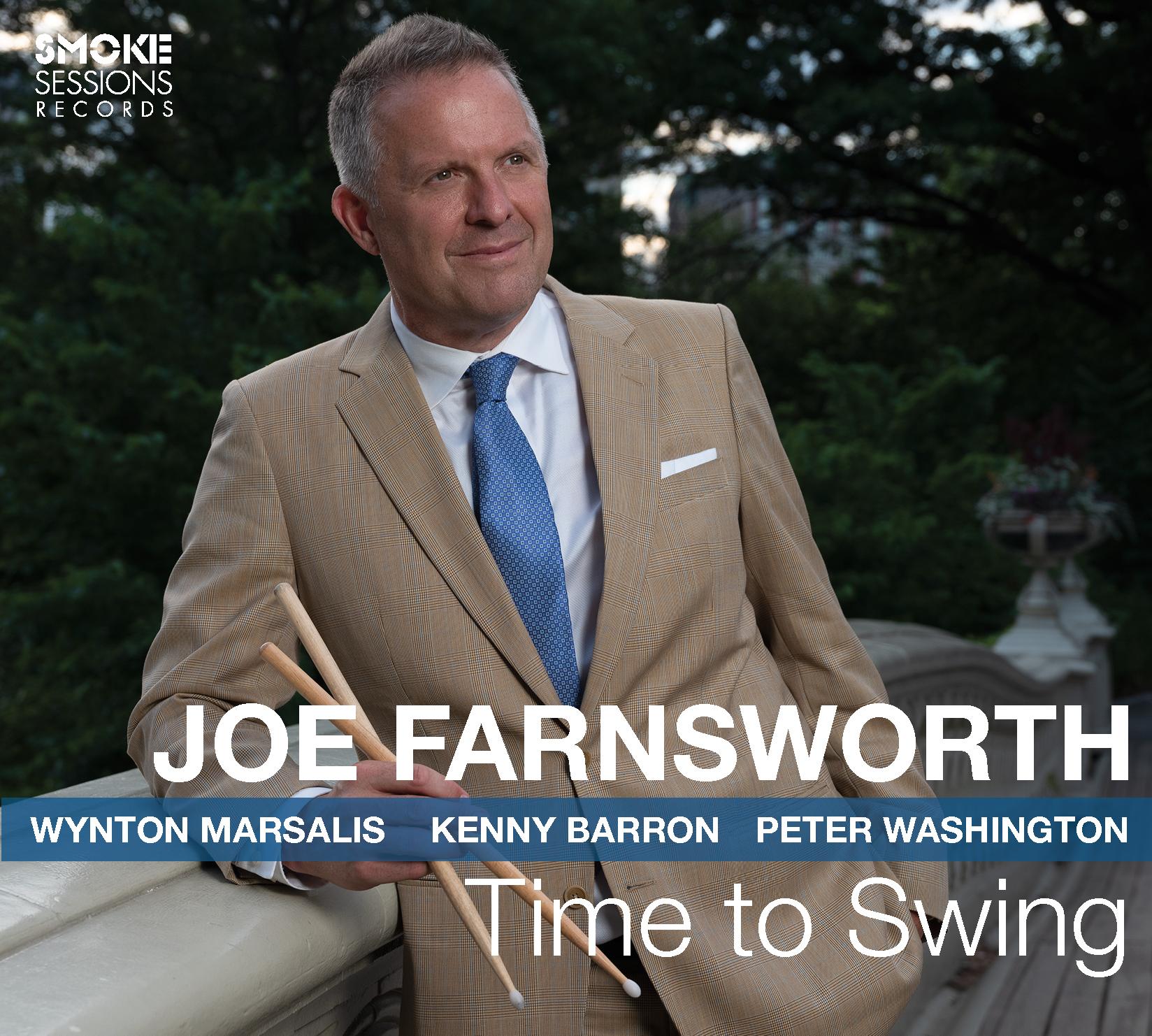 Joe Farnsworth TIME TO SWING_Cover