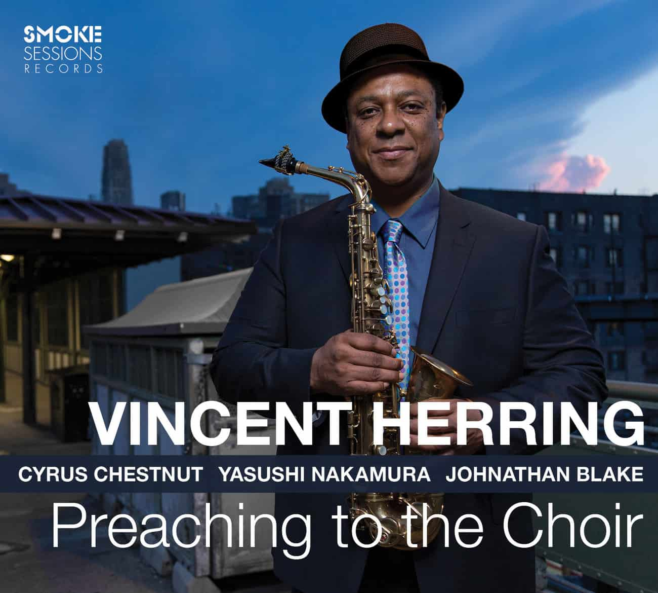 Vincent Herring PREACHING TO THE CHOIR Cover WEB