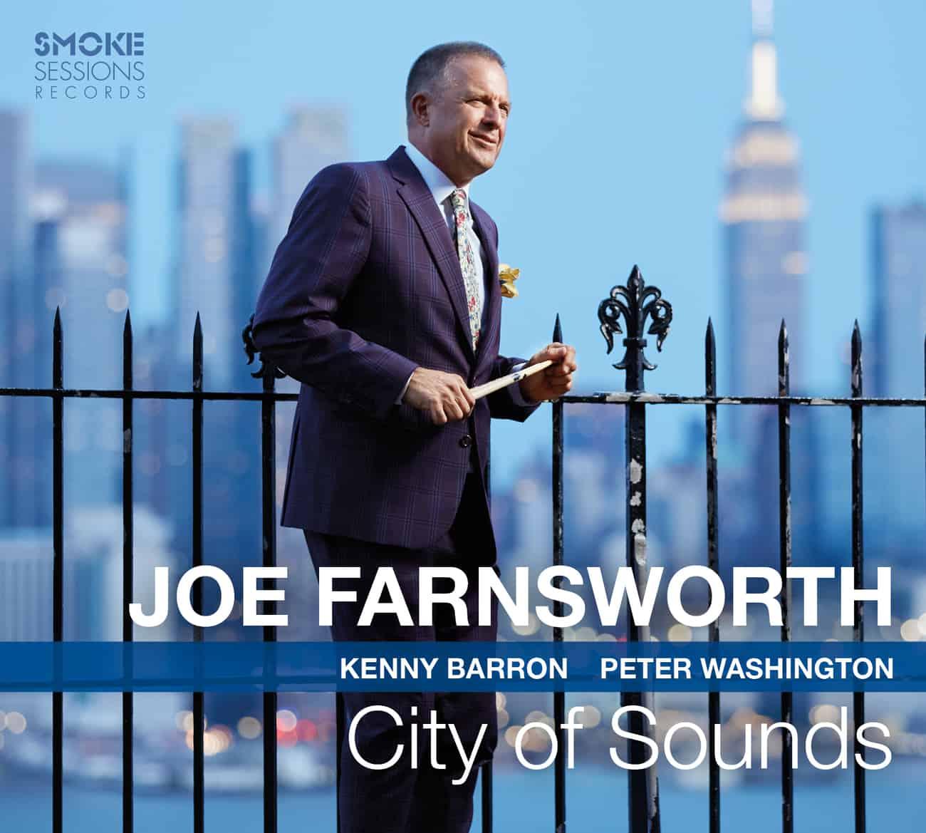 Joe Farnsworth CITY OF SOUNDS_Cover