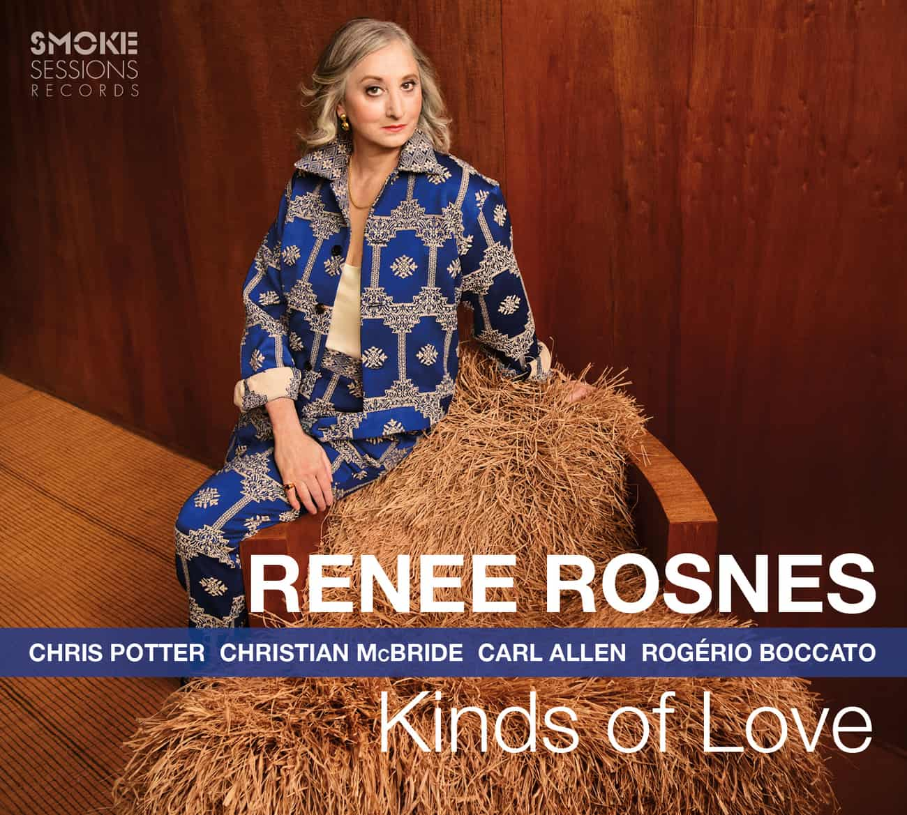 Renee Rosnes KINDS OF LOVE_Cover